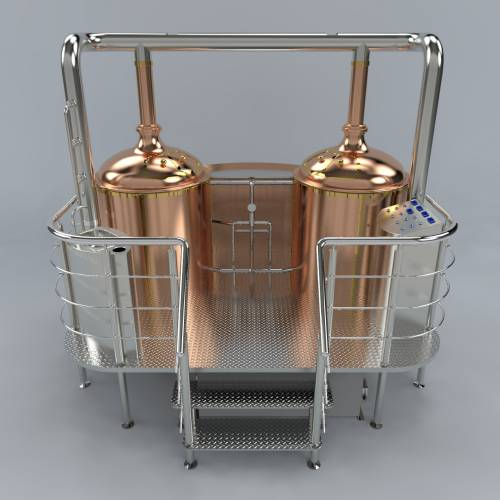 варочная мини пивзавода 500 литров
