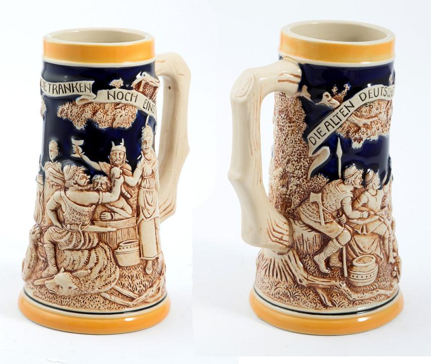 Пивная кружка подарок керамическая